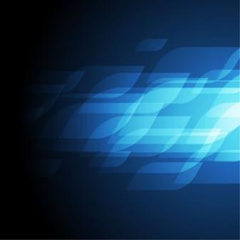 abstract blue vector art