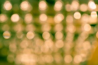 抽象的なぼかしボケの光