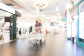 抽象的なぼかしショッピングモール
