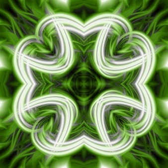 Abstract clover texture