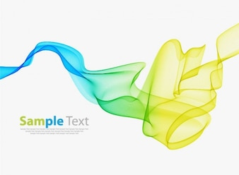 abstract colorful smoke background vector