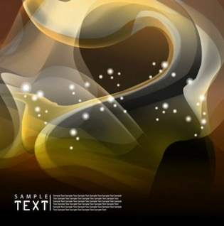 abstract dynamic flow line background with brows tones curves