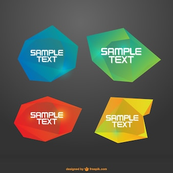 Abstract frames pack
