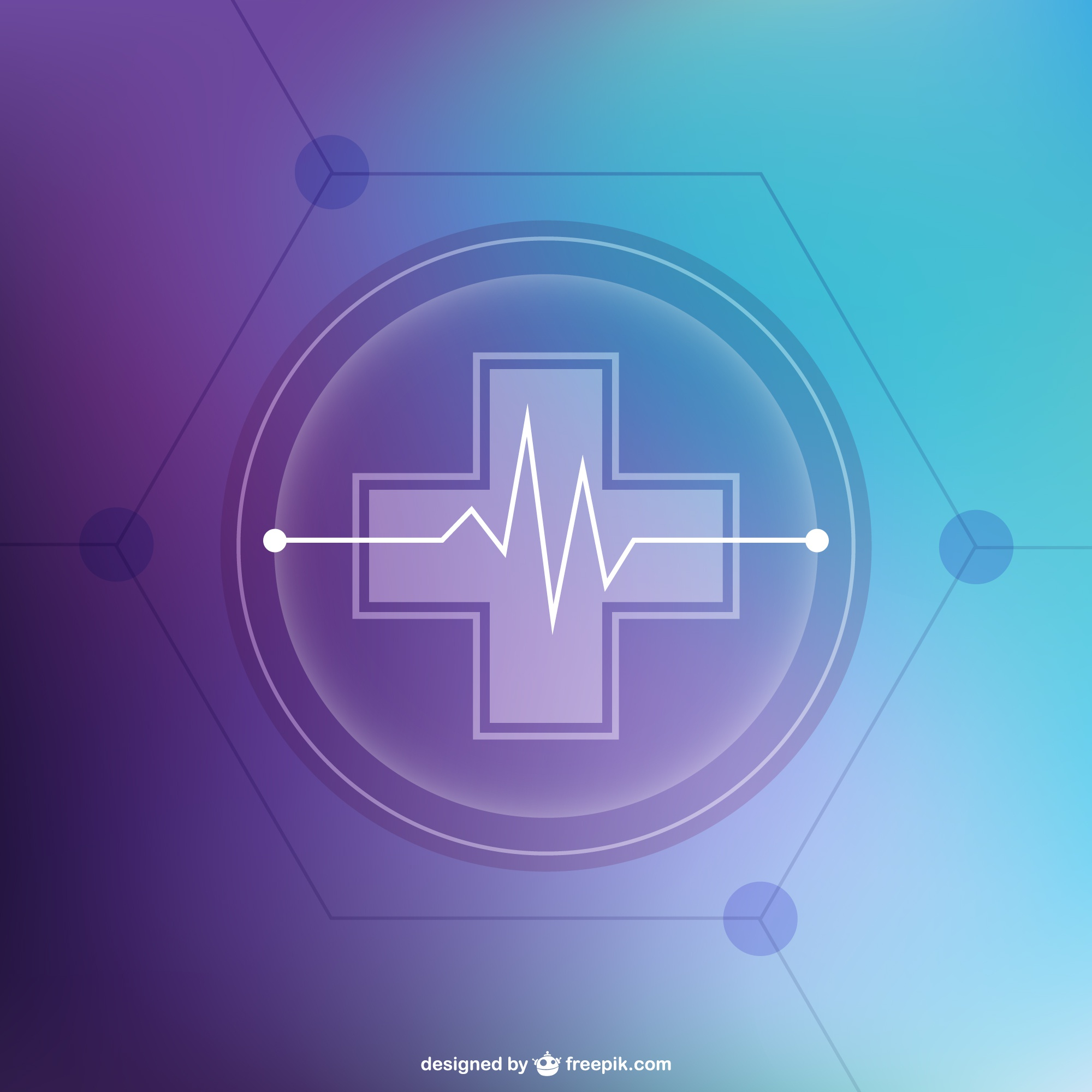 Abstract free medical background