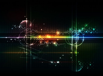 abstract futuristic background vector art