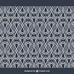 Abstract geometry arabesque background