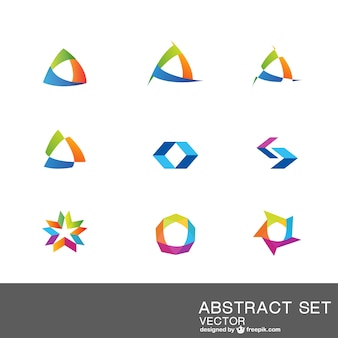 Abstract logo collection