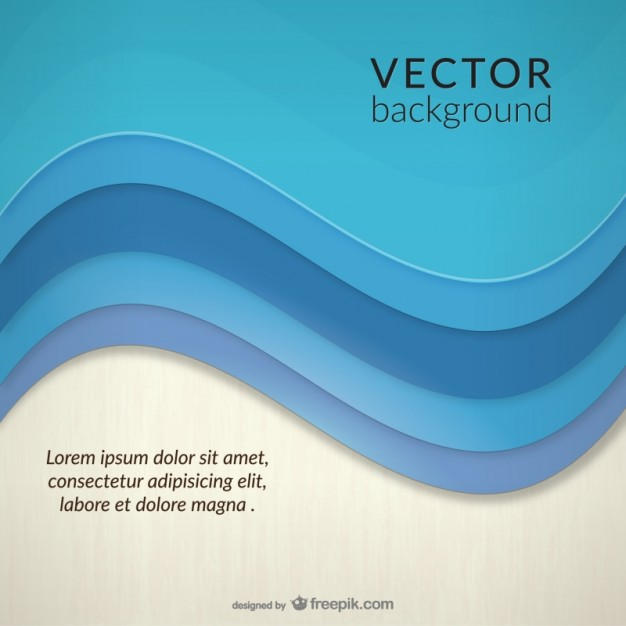 Abstract sea wave background template