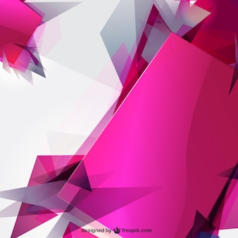 Abstract sharp shapes background