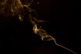 Abstract Smoke, contemplation