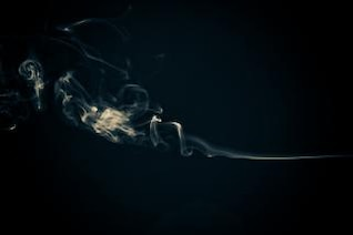 Abstract Smoke, translucent, shapes