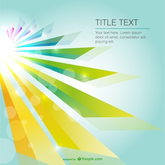 Abstract sun light vector background