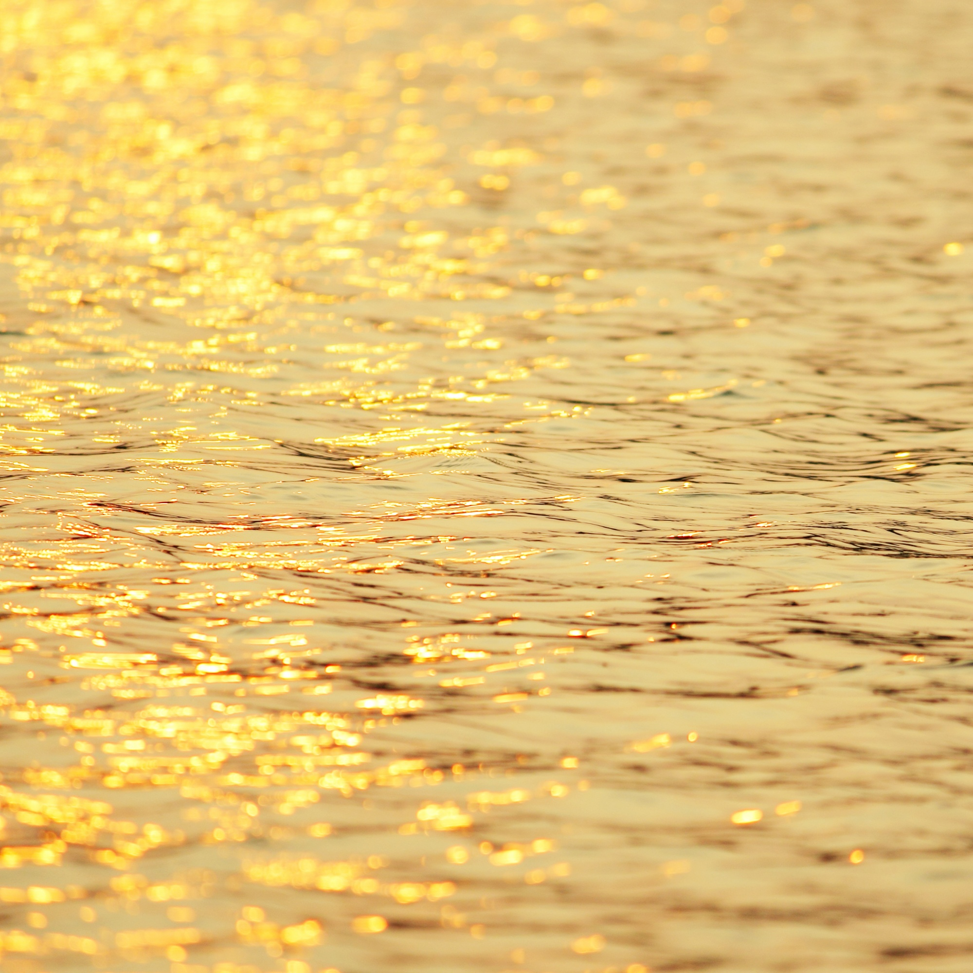 Abstract sunset in water reflection