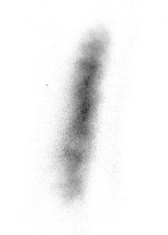 Abstract surface splat throwing powder