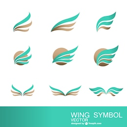 Abstract symbols collection