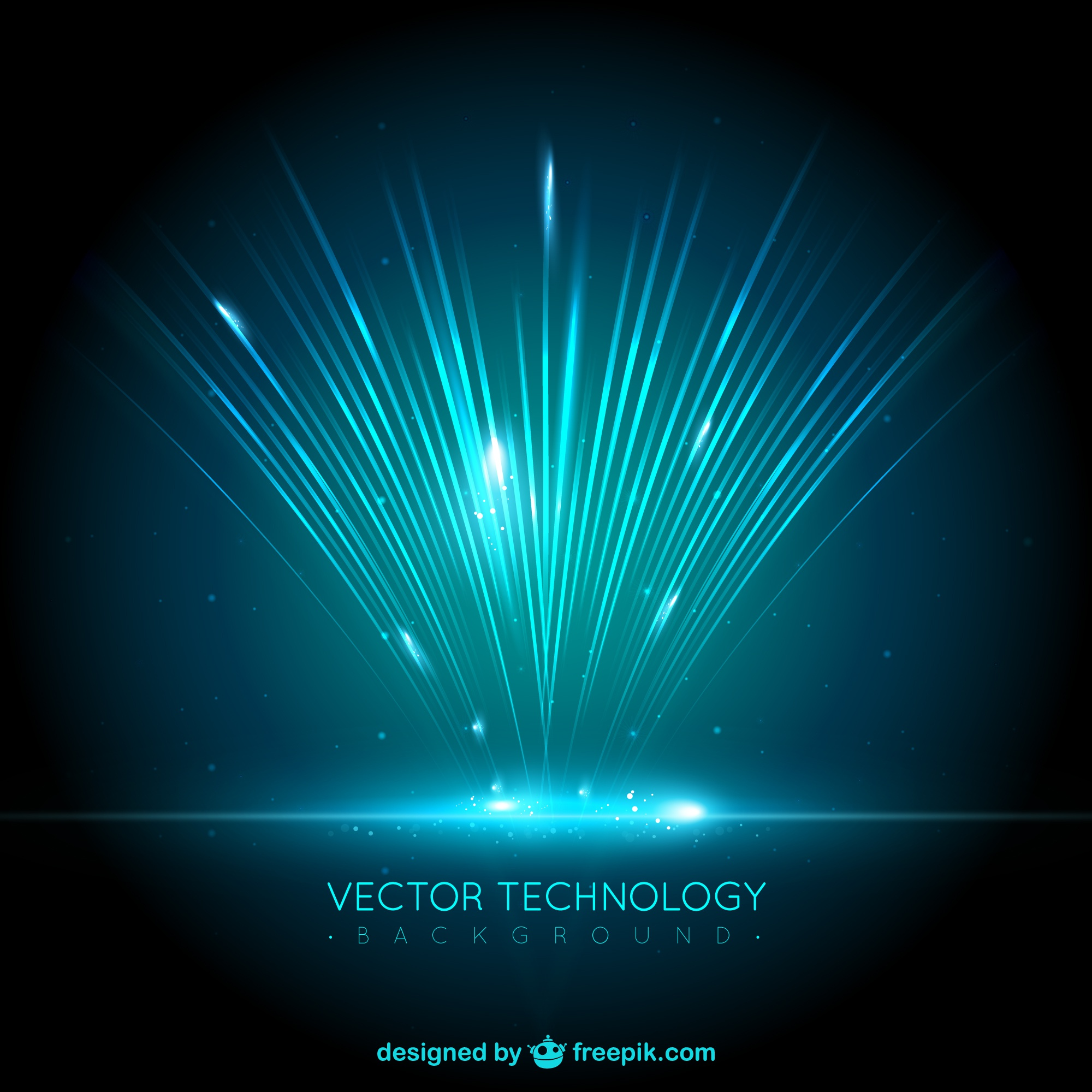 Abstract technology background design