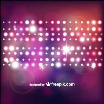 Abstract vector bokeh lights background
