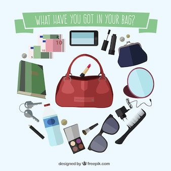 Accessories in the bag