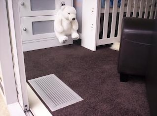 Air Vent in Babys Room