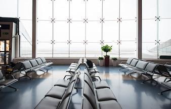 Airport travel modern floor business