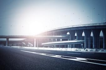 airport with bridges