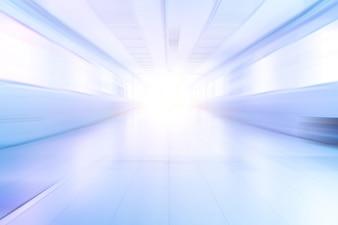 Aisle blur