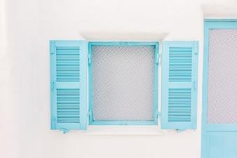 Alley window mediterranean greece cyclades