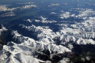 Alps, horizon