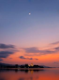 Amazing horizon landscape spirituality water