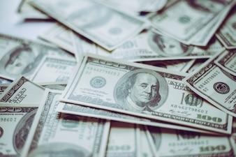 アメリカの金融現金銀行券の状態