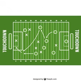 American football game strategy