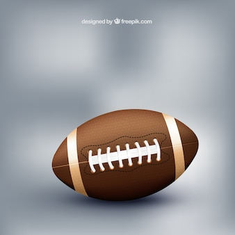 American football sports ball