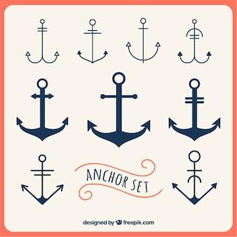 Anchors set