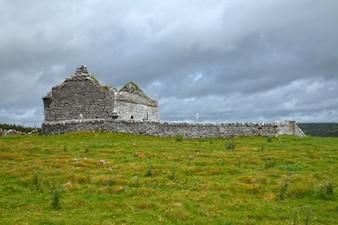 Ancient chapel ruins   hdr