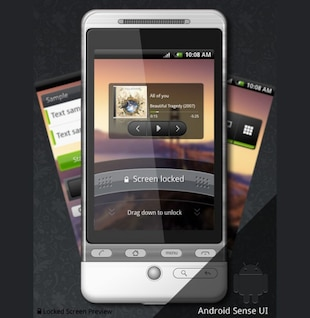 android gui set common & sense psd