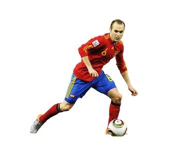 Andrs Iniesta , Spain National team