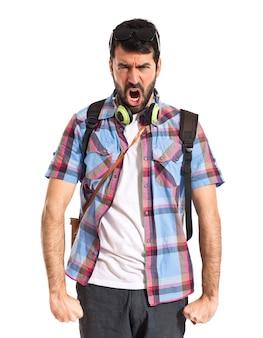 Angry Tourist