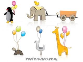 Animal cartoon clipart