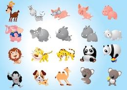 Animal Cartoons Pack
