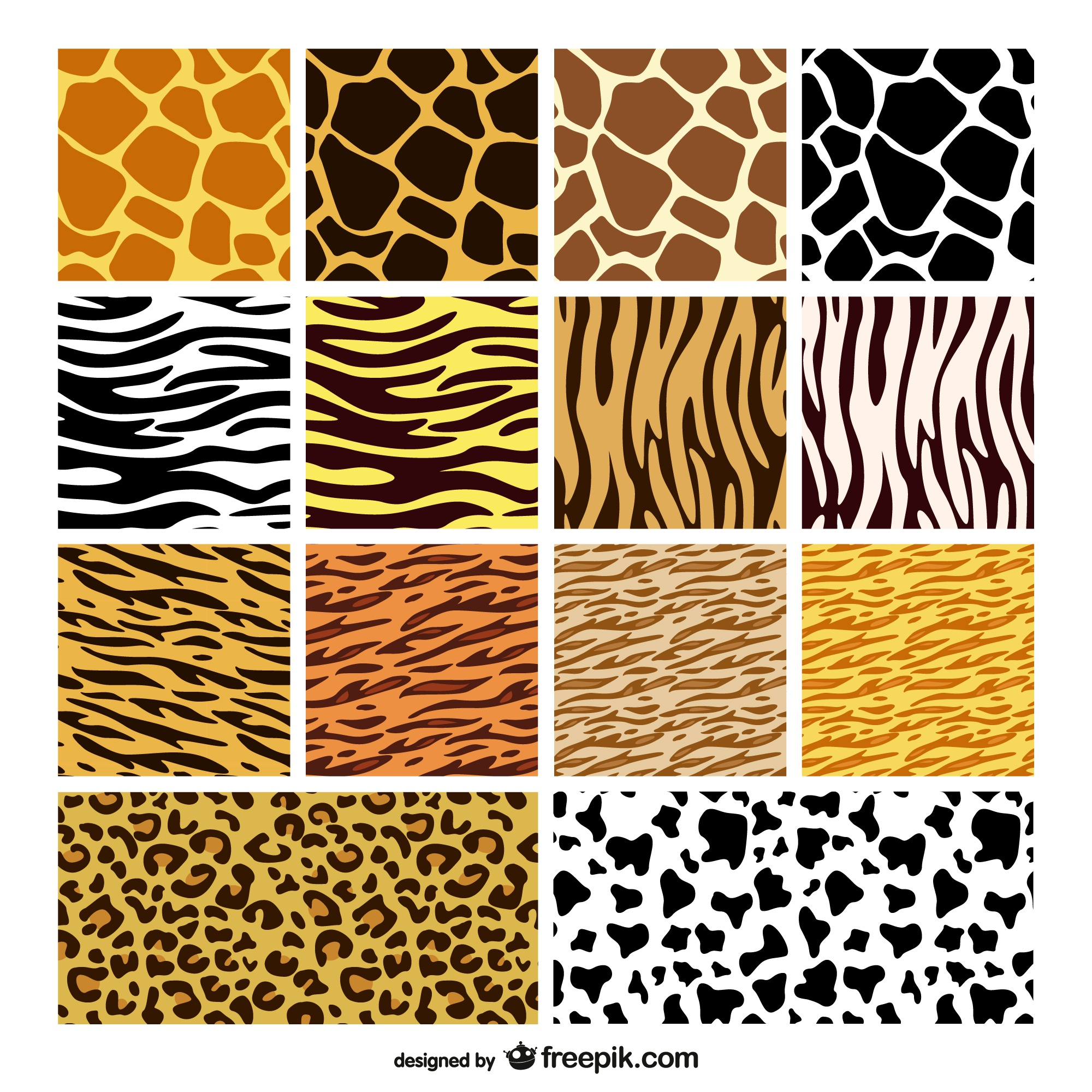 animal texture skin background vector material