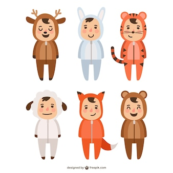 Animals costumes