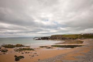 annestown beach  sea  backdrop