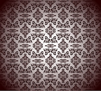 antique graphics floral vector pattern