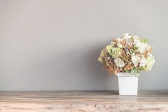 ブルーアンティークパステル美しさの花束