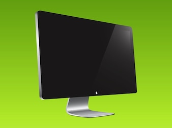 Apple computer display vector pack