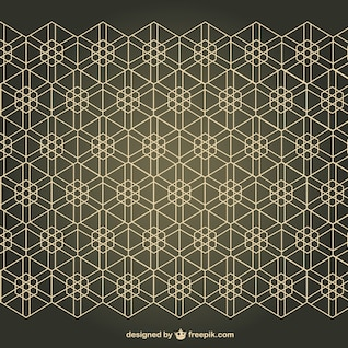 Arabesque free seamless pattern background