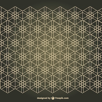 Arabesque free seamless pattern background