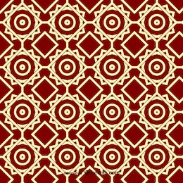 Arabesque ornamental pattern