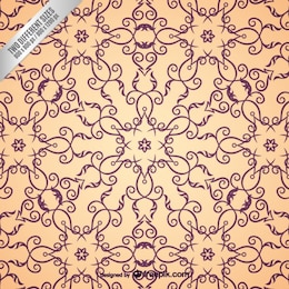 Arabic ornamental pattern
