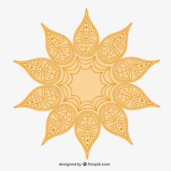 Arabic sun